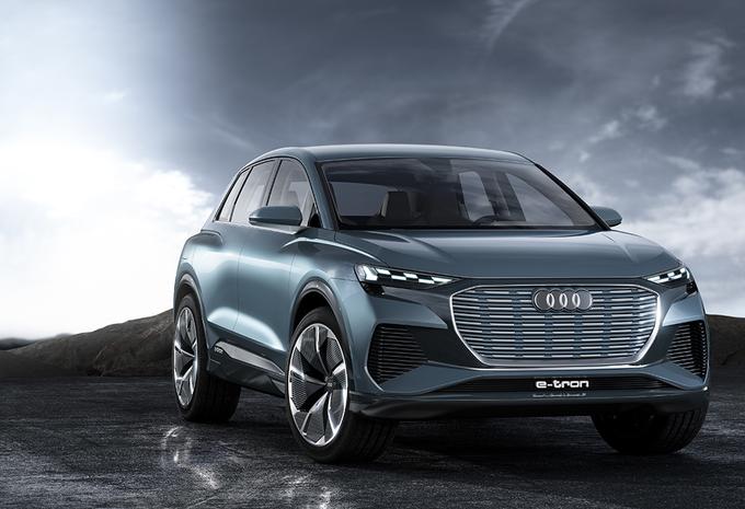 Audi Q4 e-tron: productieversie volgt in 2020 - AutoGids