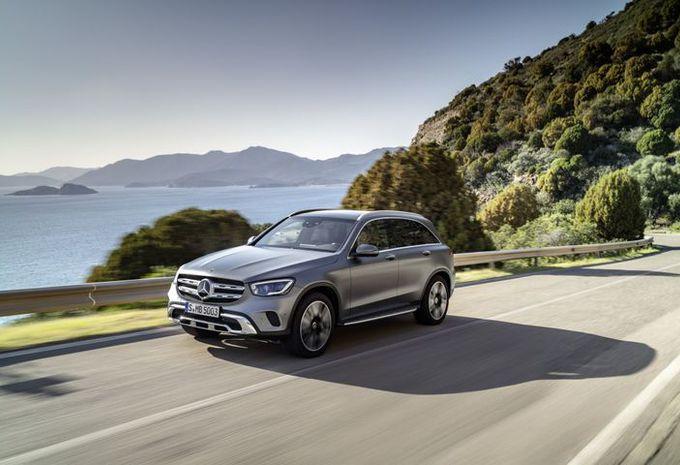 Mercedes GLC: facelift voor Genève #1
