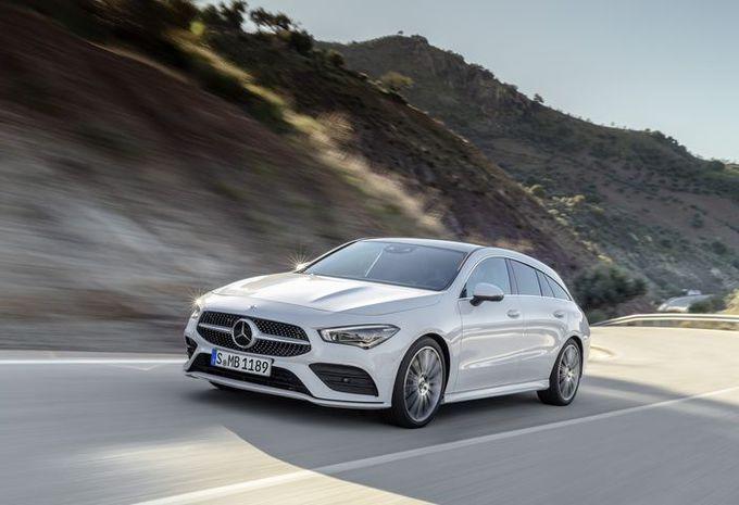 Mercedes CLA Shooting Brake : chasse gardée #1
