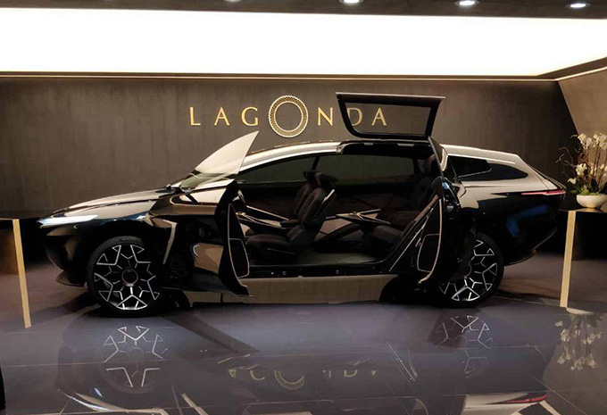 Lagonda All-Terrain Concept : un SUV sauce grand luxe pour 2022 #1