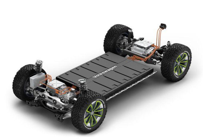 Volkswagen gaat zijn MEB-platform delen #1