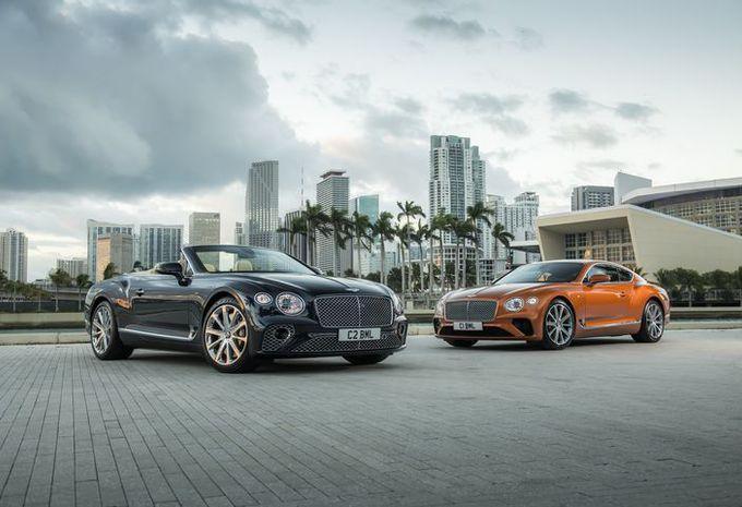 Bentley Continental GT V8: 4 liter met 550 pk #1