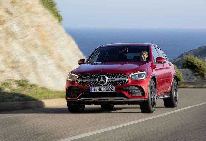 Mercedes GLC Coupé: verplichte opfrisbeurt #1