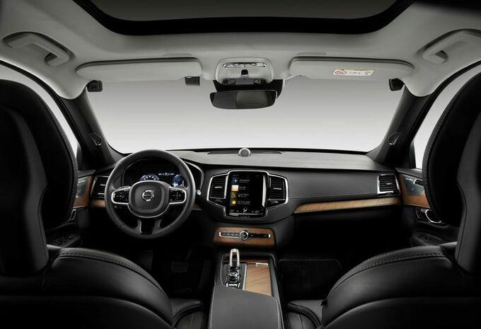 Volvo : caméras de surveillance et clé de sécurité #1