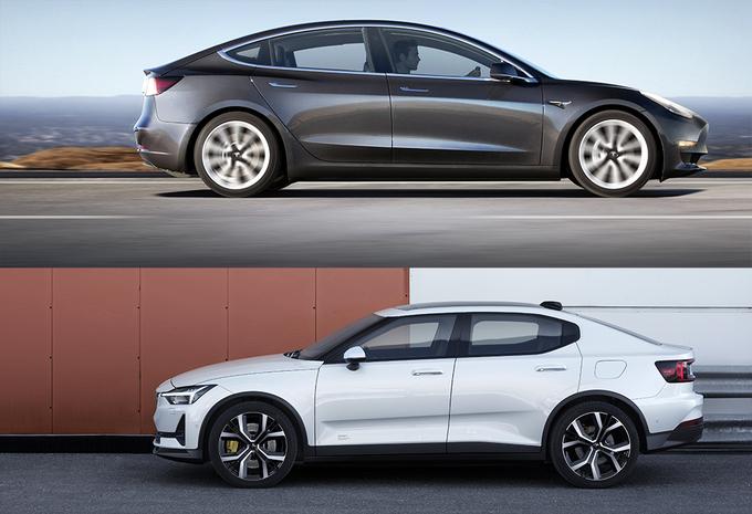 Polestar 2 vs. Tesla Model 3: wie heeft de beste configurator? #1