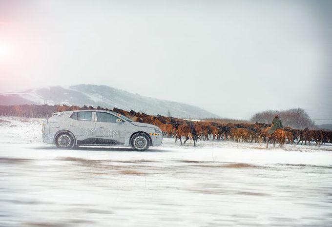 Byton : la M-Byte dans les steppes mongoles #1