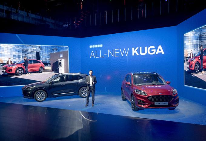 fotos nieuwe ford kuga is meest hybride ford ooit autowereld. Black Bedroom Furniture Sets. Home Design Ideas