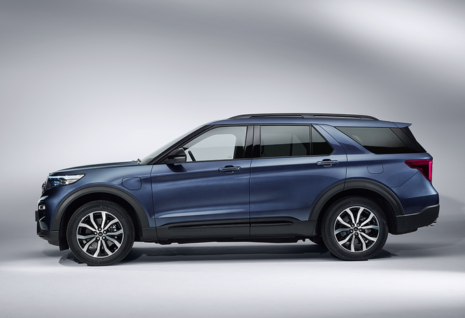 Ford : l'Explorer hybride rechargeable aussi en Europe #1
