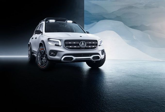 Mercedes Concept GLB : GLC familial #1