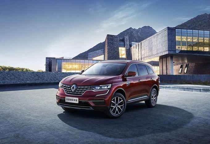Renault Koleos : lifting chinois #1