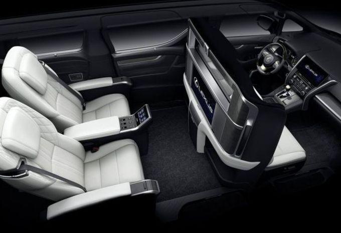 Lexus LM : espace impérial #3