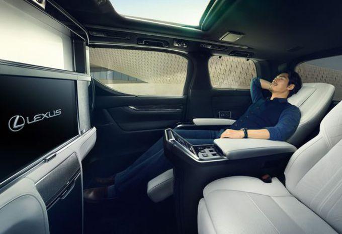 Lexus LM : espace impérial #4