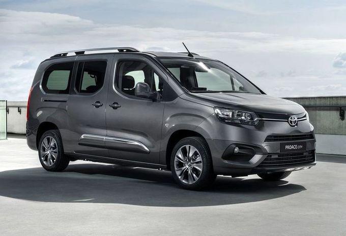Toyota Proace City Verso Le Berlingo Sauce Soja Moniteur Automobile
