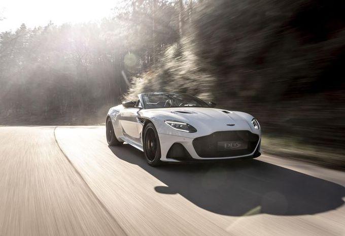 Aston Martin DBS Superleggera Volante: in het zonnetje #1