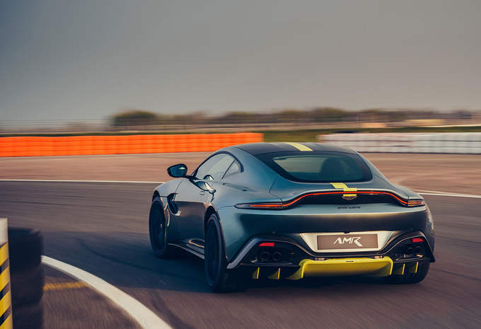 Aston Martin Vantage AMR: met handbak #1