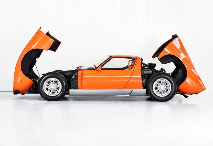 Lamborghini vindt de Miura uit The Italian Job terug na 50 jaar zoeken #1