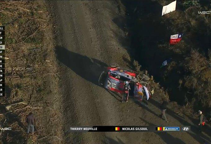 Thierry Neuville crasht zwaar in rally van Chili! - Update met video #1