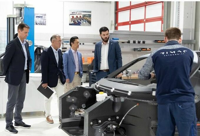 De Hyundai-groep investeert in Rimac #1