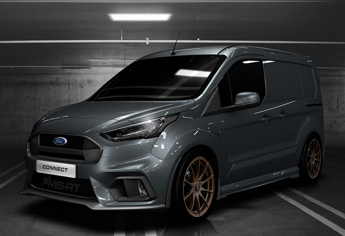 Ford Transit Connect krijgt RS-behandeling van MS-RT #1