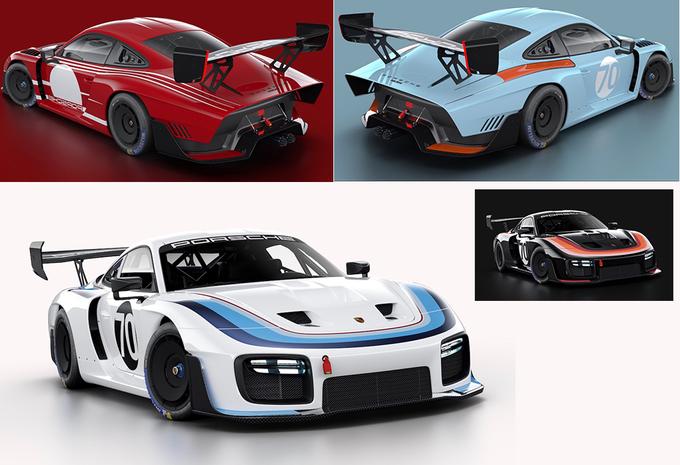 Porsche zet nieuwe 935 Clubsport in heerlijke retrokleuren - fotospecial #1