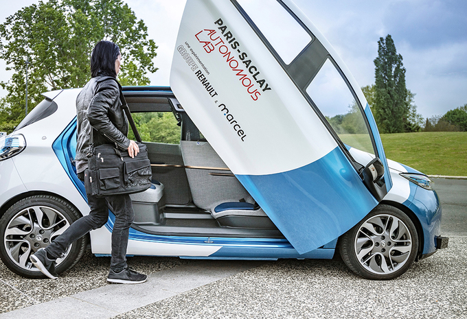 Renault Zoé: autonome taxi voor universiteit Parijs-Saclay #1