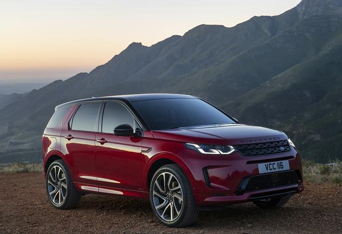 Facelift Land Rover Discovery Sport gaat Evoque achterna #1