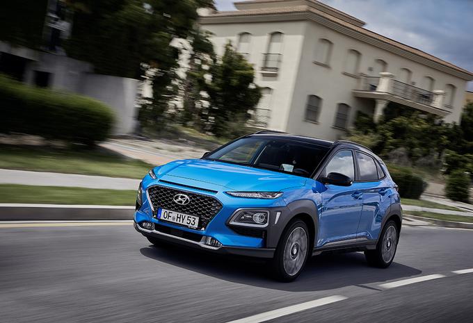 Hyundai Kona Hybrid : comme le Niro #1