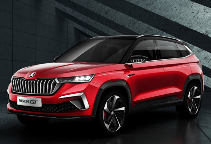 Skoda Vision GT : SUV chinois plus dynamique #1