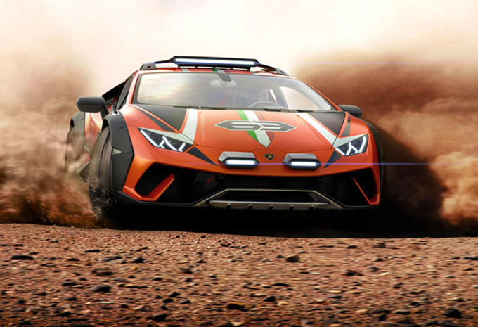 Lamborghini Huracán Sterrato concept : toujours V10, mais tout-terrain #1