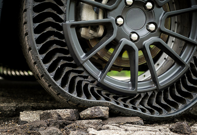 Michelin annonce un pneu increvable et sans air