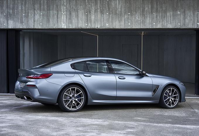 BMW 8 Reeks Gran Coupé jaagt op Panamera en AMG GT 4-Door #1
