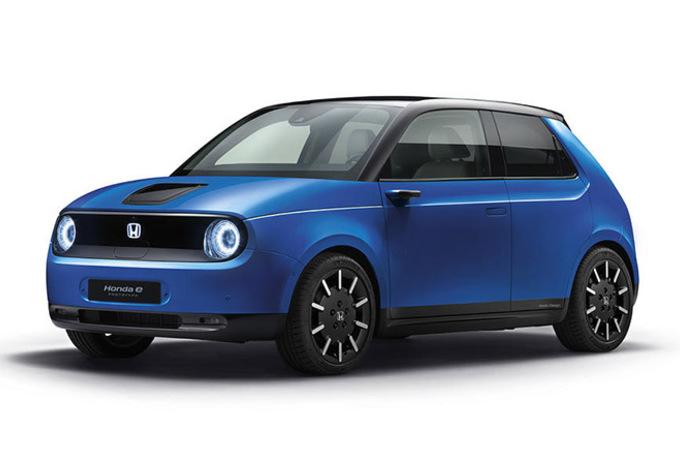 Ainsi est la plateforme électrique de la Honda e