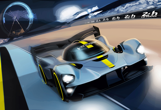 Aston Martin Valkyrie doet mee aan Le Mans 2021! - UPDATE #1