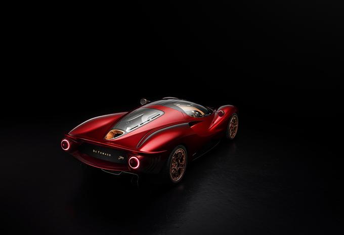 De Tomaso P72: hommage aan de P70 #1