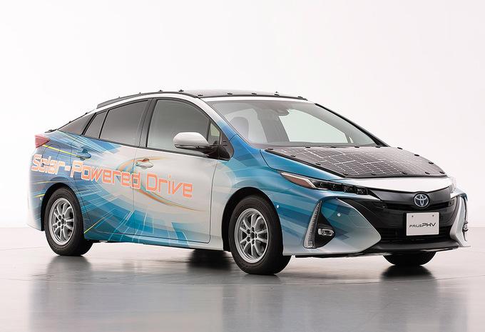 Toyota Prius à énergie solaire #1