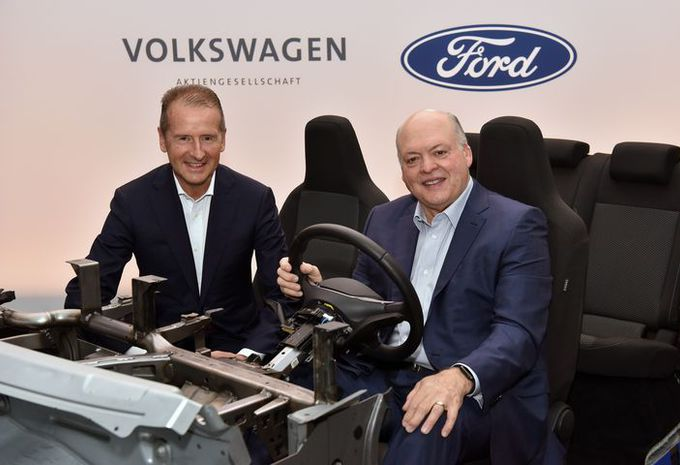 Ford en Volkswagen samen voor de autonome en elektrische auto #1