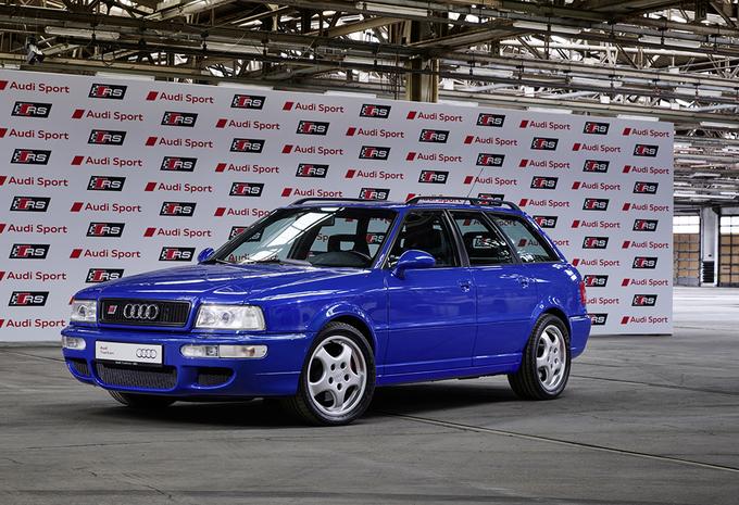 Audi : 25 ans de modèles RS #1