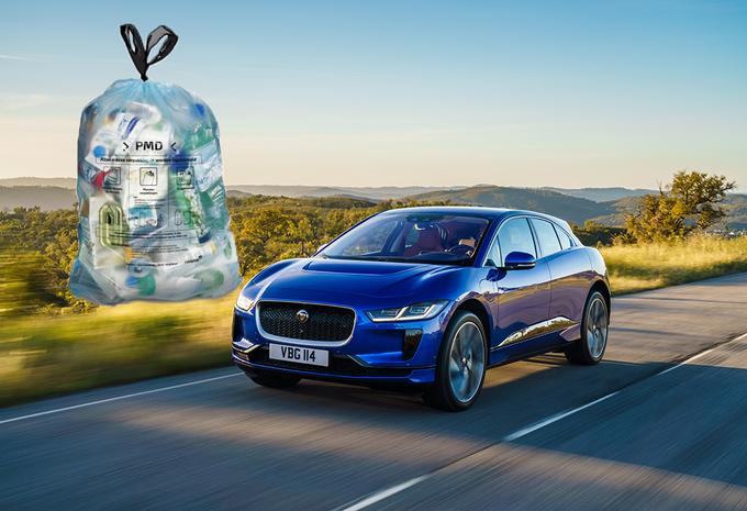 Jaguar Land Rover va fabriquer des pièces avec des déchets plastiques #1
