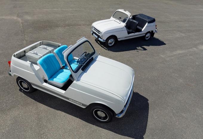 Renault e-Plein Air : 4L électrique #1