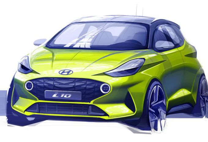 La Hyundai i10 pointe le bout du museau #1