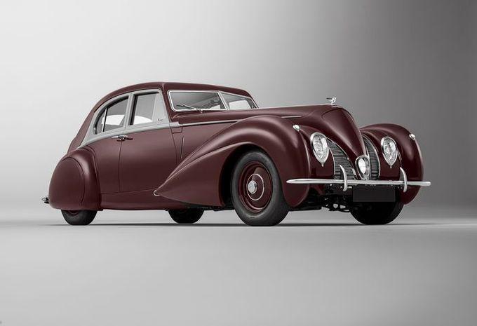 Bentley Corniche 1939 : à l'identique #1