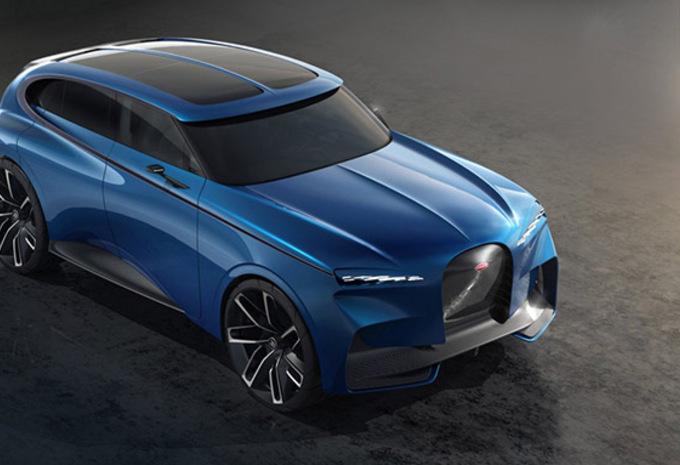 Bugatti : le SUV prêt, mais en attente #1