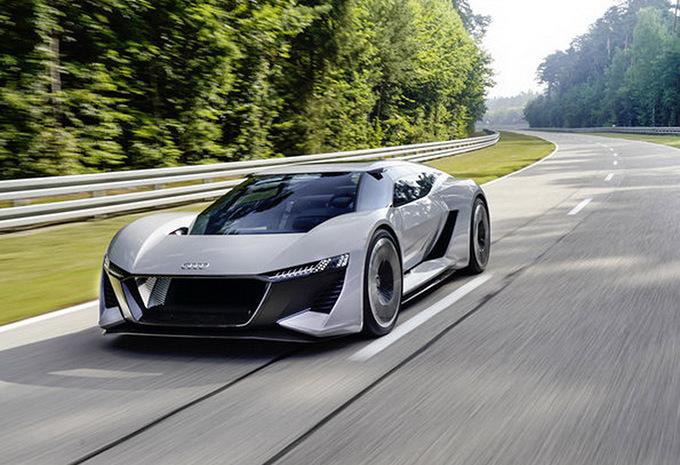Audi: een elektrische R8 met Rimac? #1