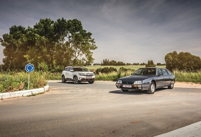 Onze Citroën CX vs. C5 Aircross (1): Franse klasse #1