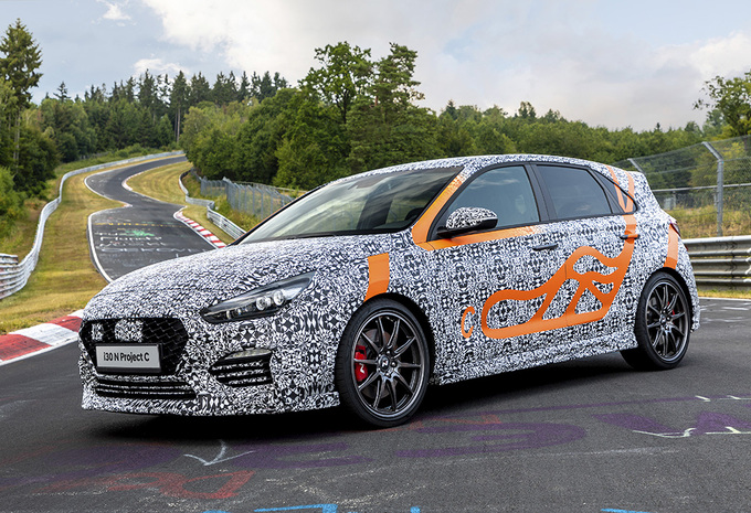 Hyundai i30 N Project C is extra lichte hot hatch #1