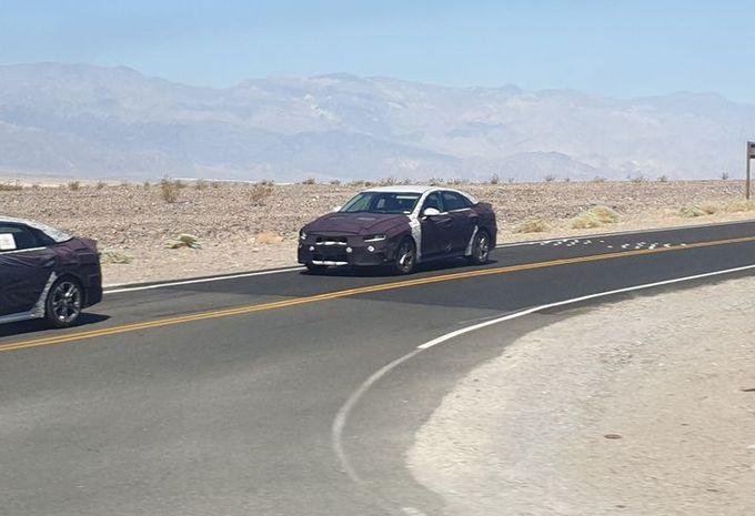 La future Kia Optima dans la Death Valley #1