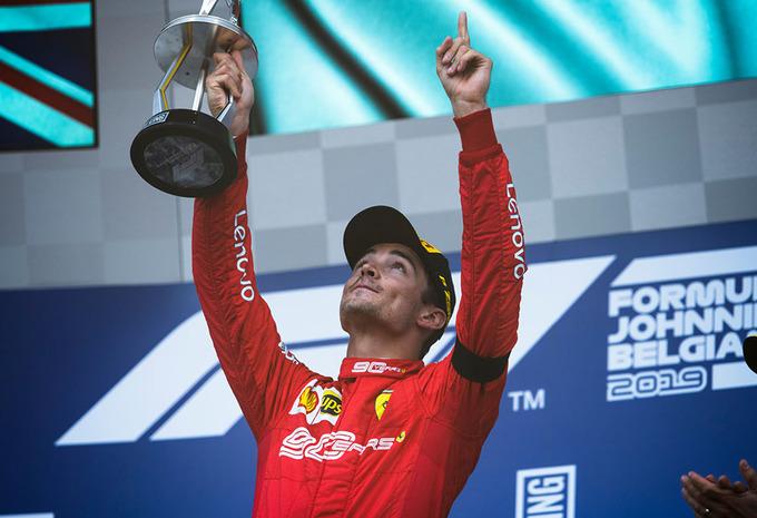 Gemengde gevoelens voor Charles Leclerc na eerste Formule 1-zege in GP België #1