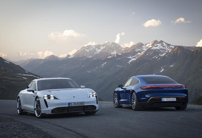Elektrische Porsche Taycan debuteert als Turbo en Turbo S + prijzen #1