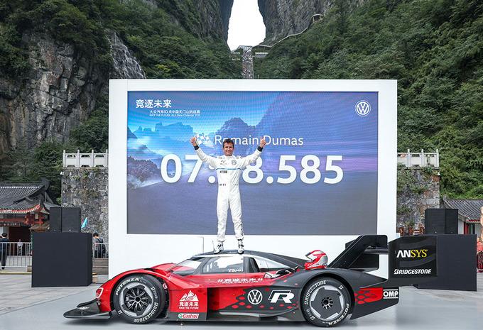 Elektrische Volkswagen ID.R verovert Chinese berg #1