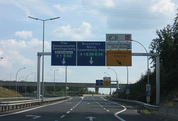 Luxemburg stopt met snelwegen te verlichten #1